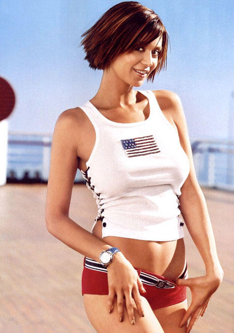 Catherine Bell White Color Mini Dress Picture
