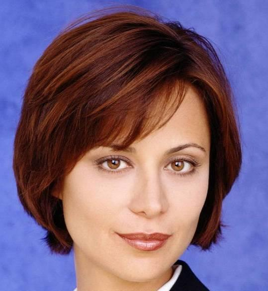 Catherine Bell Hair Style Wallpaper