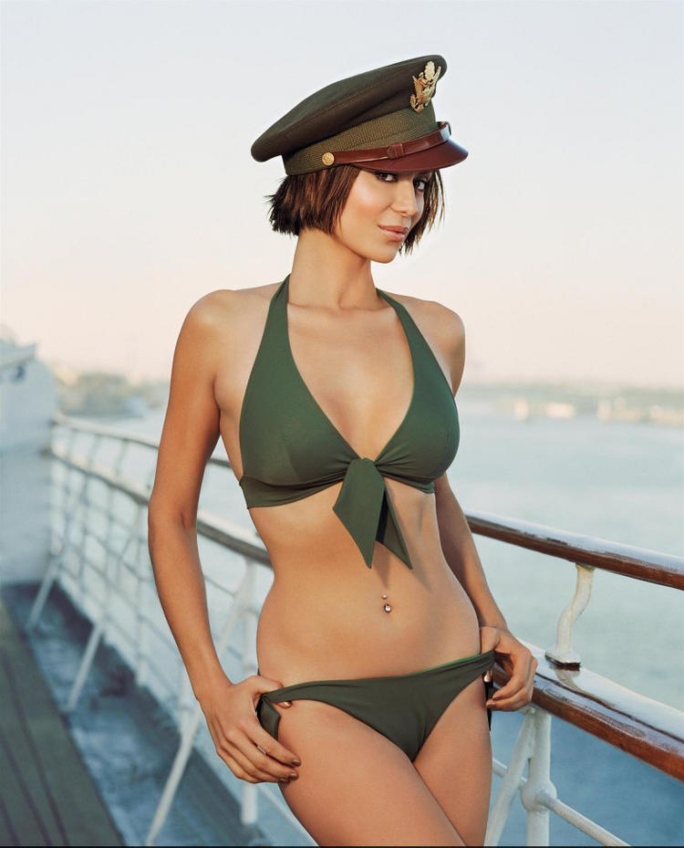 Catherine Bell Two Piece Dress and Cap Photo