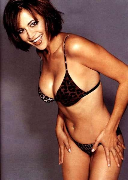 Catherine Bell Hot Bikini Wallpaper