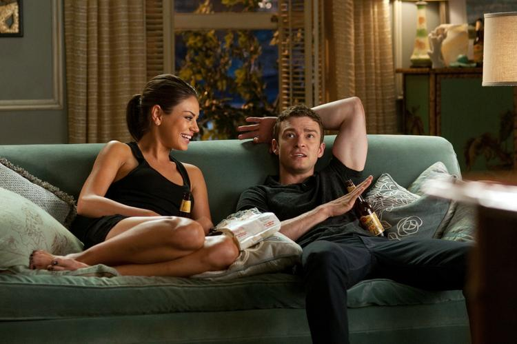Mila Kunis Sexy Still in Friends with Benefits Movie