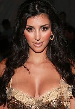 Kim Kardashian Deep Boob Gorgeous Pic