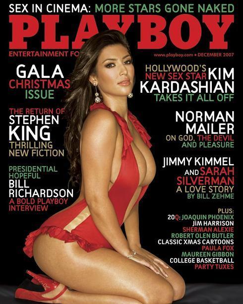 Kim Kardashian Cover Playboy