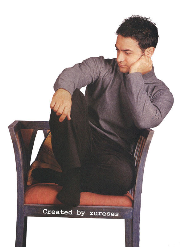 Aamir Khan Sexy Pose For Photo Shoot
