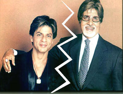 Amitabh Bachchan and Shah Rukh Khan Wallpaper