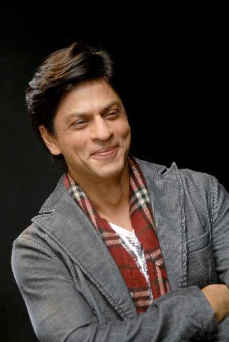 Shah Rukh Khan Sweet Smile And Blazer Wallapper