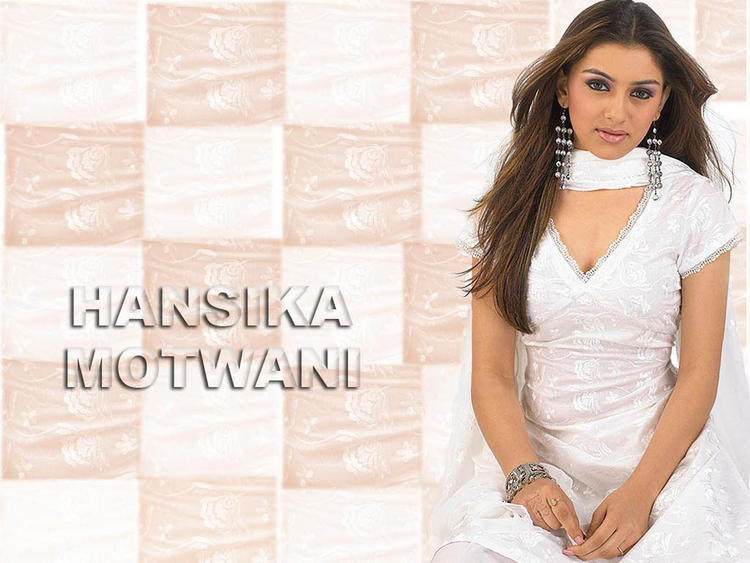 Hansika Motwani Glorious wallpaper