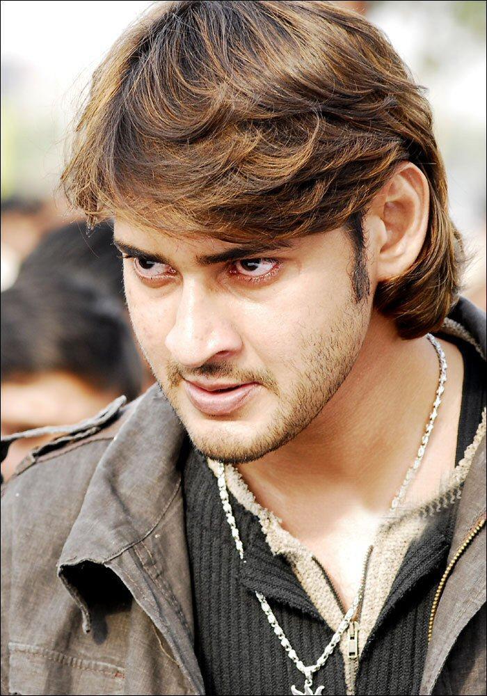 Mahesh Babu Cute Angry Look