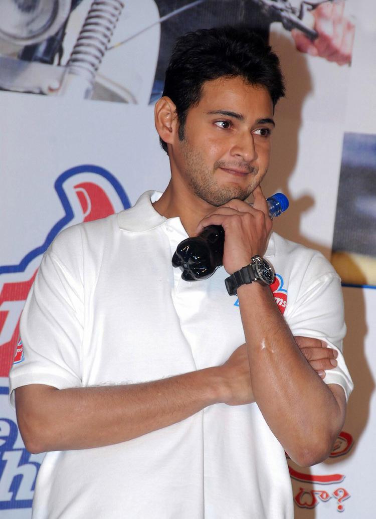 Telugu Actor Mahesh Babu Cute Face Still