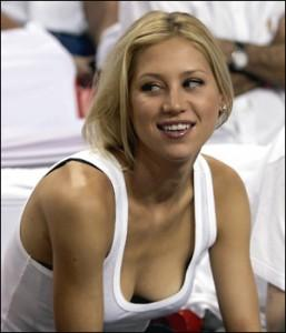 Anna Kournikova Deep Boob Hot Still