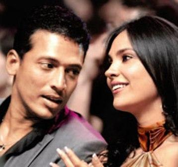 Lara Dutta and Mahesh Bhupathi Glamour Still
