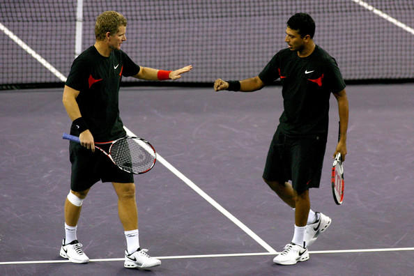Mahesh Bhupathi and Mark Knowles Images