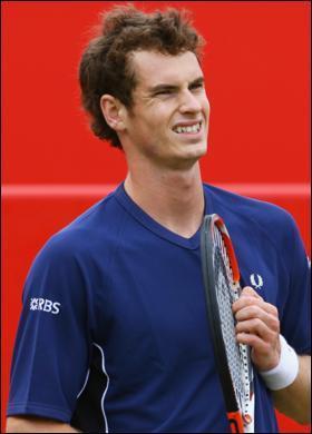 Andy Murray Blue T Shirt Still