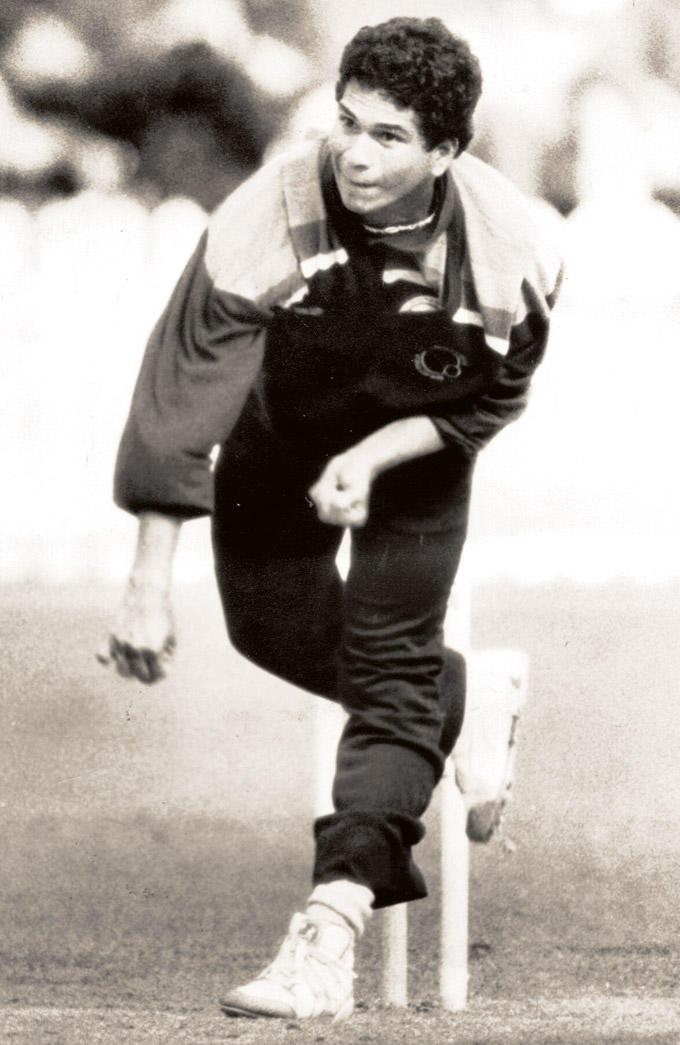 Sachin Tendulkar First Cricket World Cup Against New Zealand