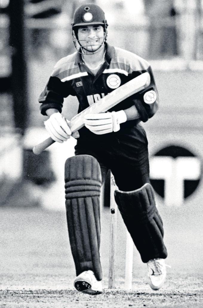 Sachin Tendulkar First Cricket World Cup Against Australia in Brisbane