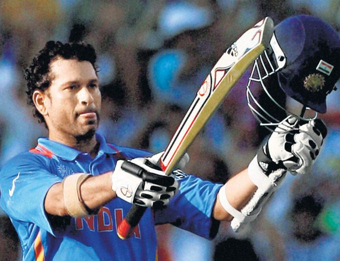 Sachin Tendulkar Sixth Cricket World Cup Against South Africa in Nagpur
