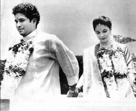Sachin Tendulkar Wedding Photo
