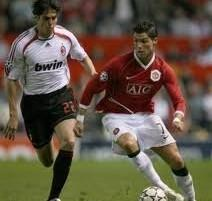 Cristiano Ronaldo and Kaka Play Photo
