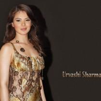 Urvashi Sharma  Sleeveless Dress Wallpaper