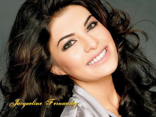 Jacqueline Fernandez Gorgeous Smile Wallpaper