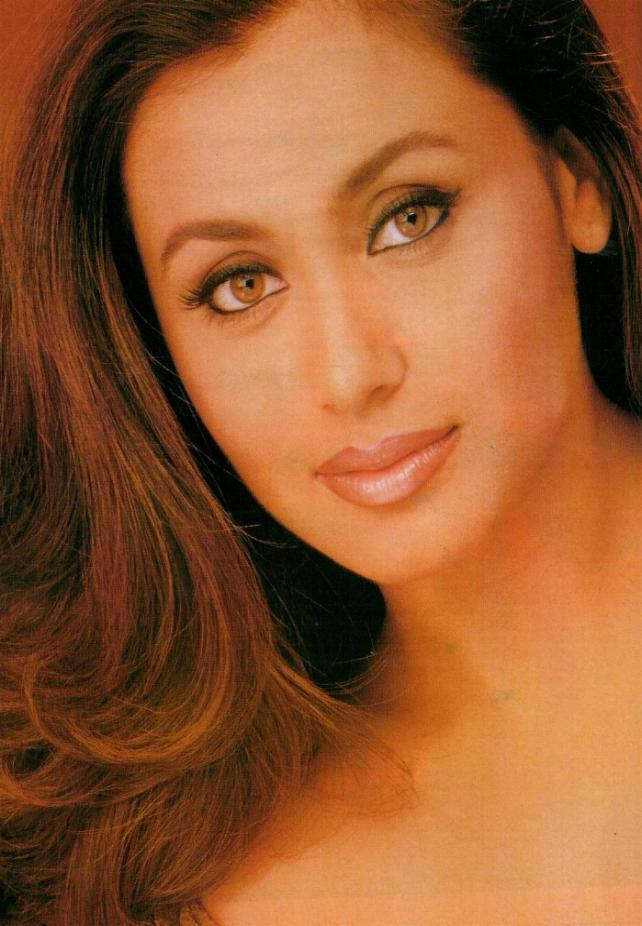 Rani Mukherjee hot face look