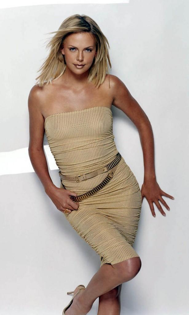 Charlize Theron Glamour Photo Shoot