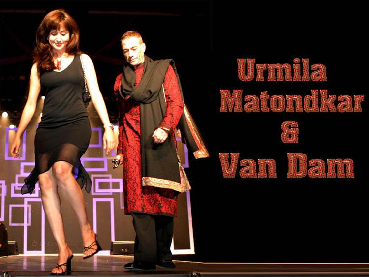 Urmila Matondkar with Van Dam