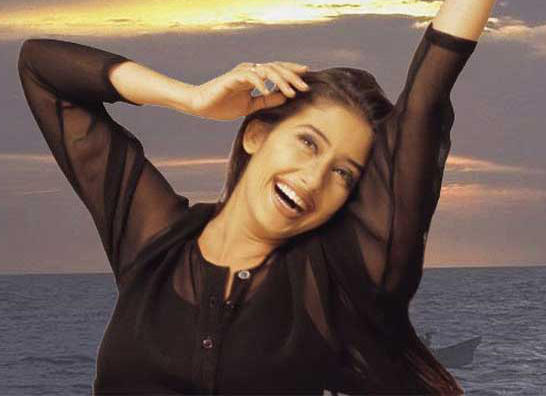 Manisha Koirala In Black Dress
