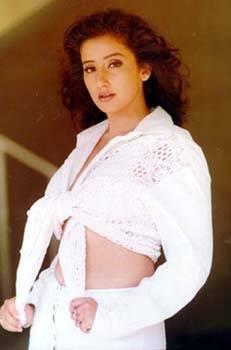 Manisha Koirala hot in white dress