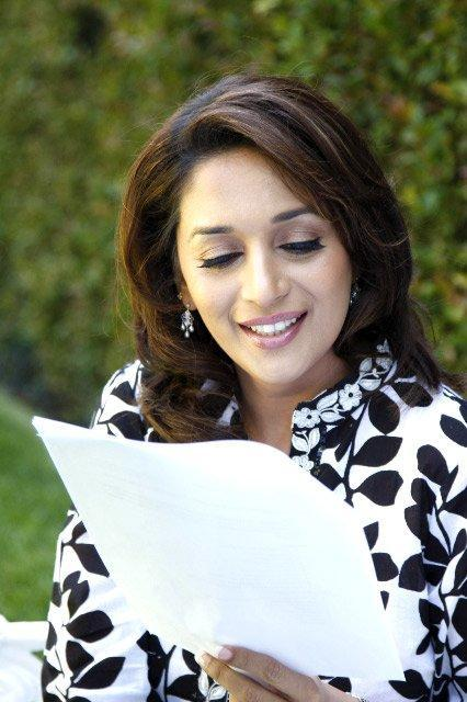 Madhuri Dixit Reading Still