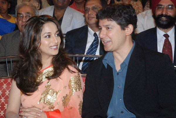 Madhuri Dixit With Her Hasband