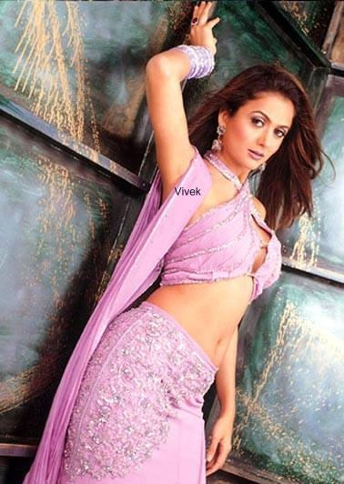Amrita Arora hot in pink