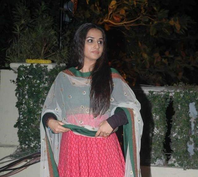 Vidya at Imran Khan and Avantika Wedding