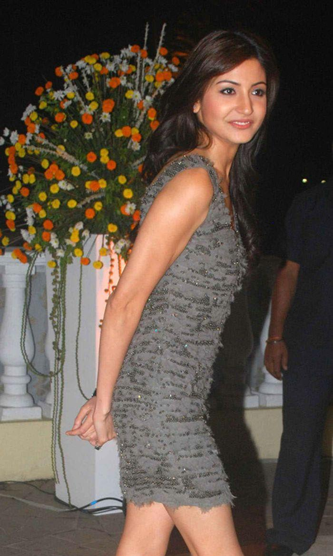 Anushka at Imran Khan and Avantika Wedding