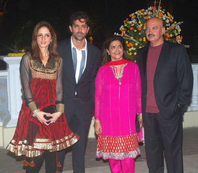 Rakesh with Family at Imran Khan and Avantika Wedding