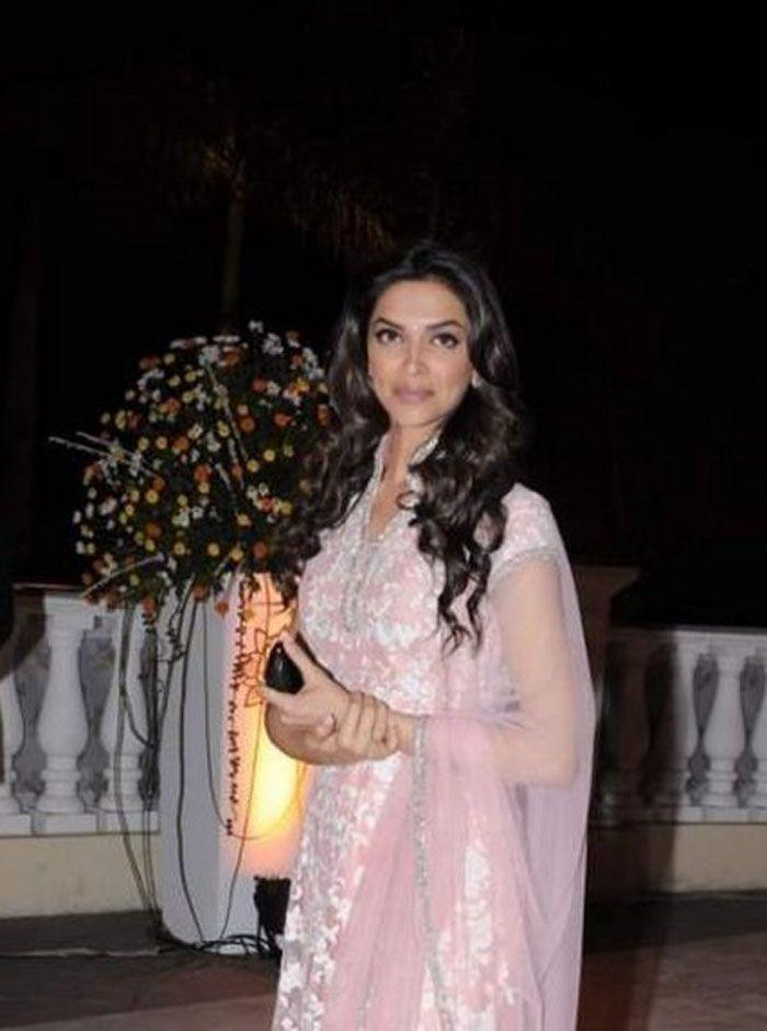 Deepika at Imran Khan and Avantika Wedding