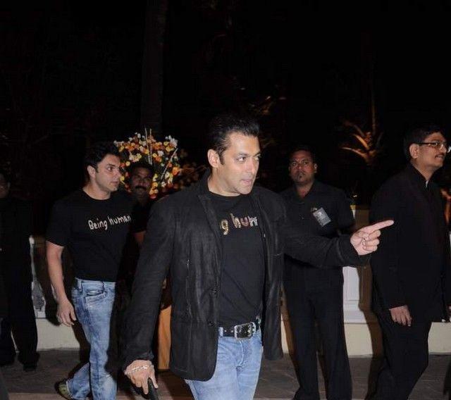 Salman Khan at Imran Khan and Avantika Wedding