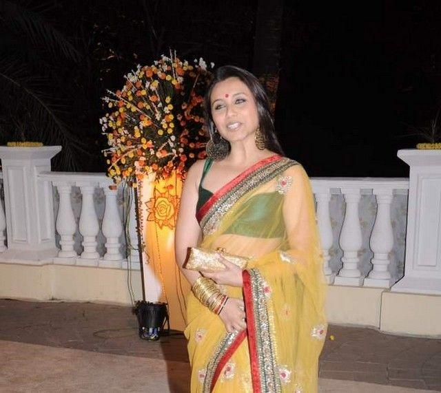 Rani at Imran Khan and Avantika Wedding