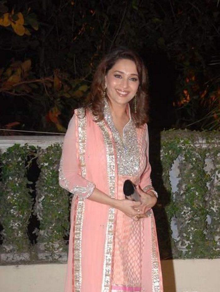 Madhuri at Imran Khan and Avantika Wedding