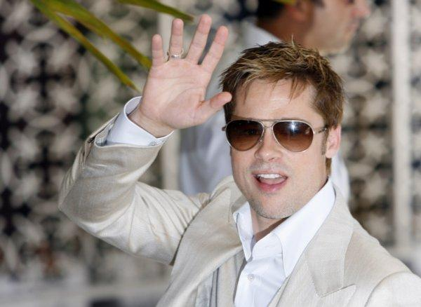 Brad Pitt New Stylist Photo