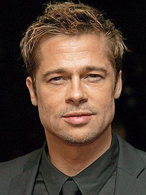 Brad Pitt Gorgeous Face Pic
