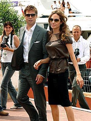 Brad Pitt and Angelina Jolie Public Still