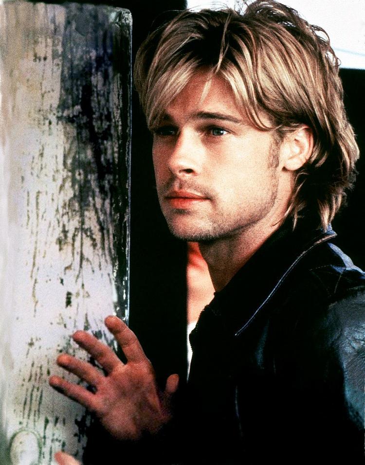 Brad Pitt Latest Glamour Photo