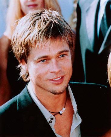 Brad Pitt Cute Face Hot Photo