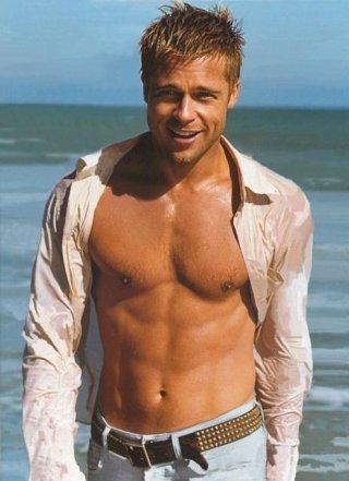 Brad Pitt Sexy Body Show Photo Shoot