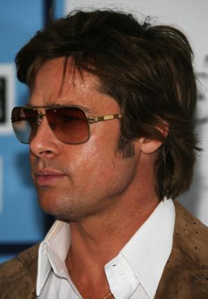 Brad Pitt Side Face Hot Pics