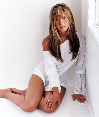 Jennifer Aniston White Dress Sexy Still