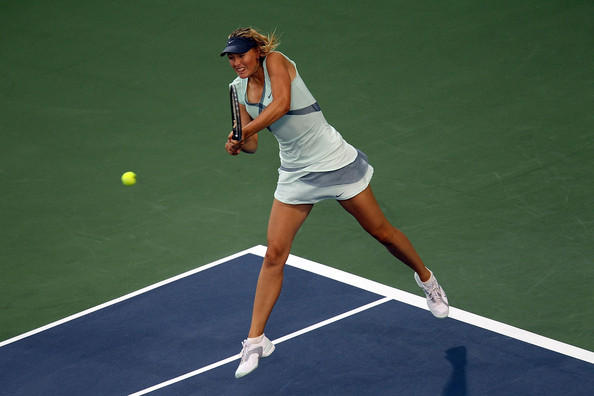 Maria Sharapova Western Southern Financial Still