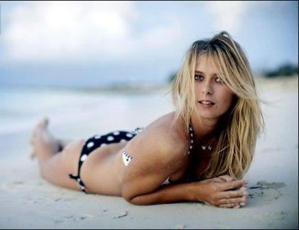 Maria Sharapova Spicy Bikini Pose Photo Shoot