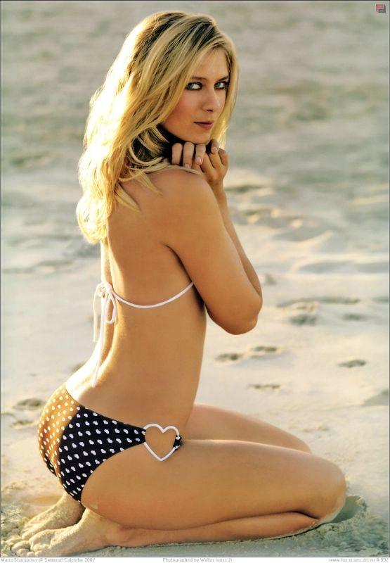 Maria Sharapova Sexiest Figure Show Photo